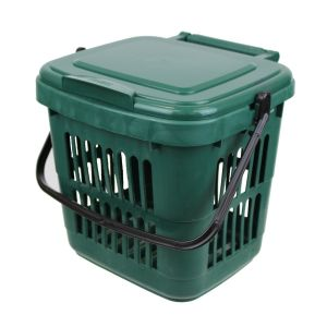 Vented Kitchen Caddy - Green - 7L size