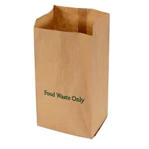 6L Ecosack Paper Compostable Caddy Liners (Small)