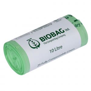 10L BioBag Compostable Kitchen Caddy Liners (Large)