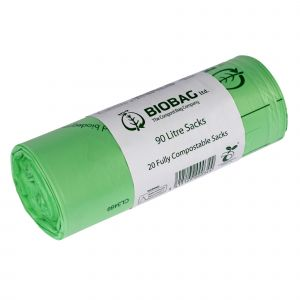 90L BioBag Compostable Commercial Bin Sacks