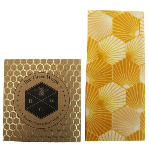 Bee's Wrap Food Covers - Large - Hexagonal Design