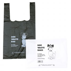 Biodegradable Tie-Handle Dog Poo/Waste Bags