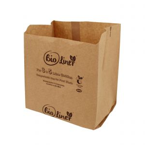 3 & 5L Bioliner Compostable Paper Caddy Bags (Small)