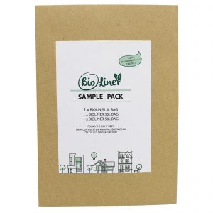 Sample Compostable Bag Pack - BioLiner 3L, 30L, 50L