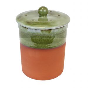 Chetnole Terracotta Compost Caddy - Bramley Green