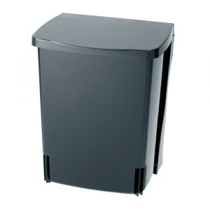 Brabantia Built in Bin - Black - 10L Size