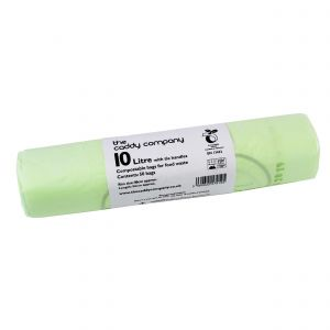 10L Tie-Handle Caddy Company Compostable Caddy Liners