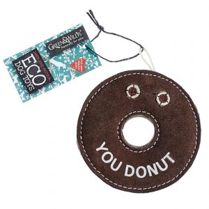 Green & Wilds Eco Dog Toy - Derrick the Donut