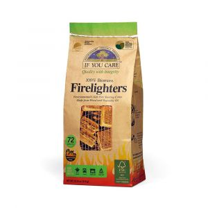 If You Care Firelighter Tablets - FSC Wood and Vegetable Oil - Pack of 72