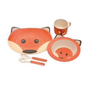 Eco Bamboo 5PC Kids Set - Fox