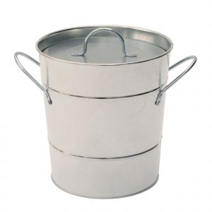 Garden Trading Galvanised-finish - Metal Compost Pail