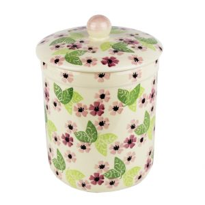 Haselbury Ceramic Compost Caddy - Blushing Susan