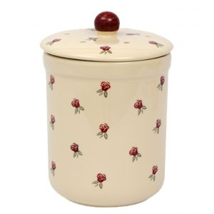 Haselbury Ceramic Compost Caddy - Rose