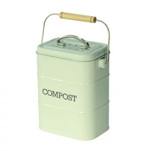 Nostalgia Compost Caddy - Vintage Blue