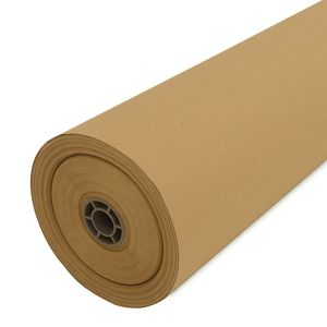 Recycled Roll of Brown Paper Packaging
