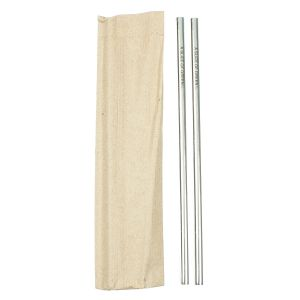 Stainless Steel Single Straw - Set of 2