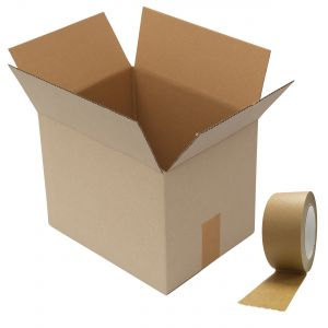 Small A4 Cardboard Boxes & Self-Adhesive Paper Packaging Tape