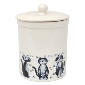 Ashmore Ceramic Compost Caddy / Food Bin 3L alley cats Design - Main