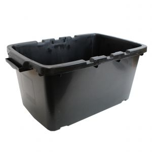 CORAL OUTDOOR RECYCLING/STORAGE BOX - 44L - BLACK