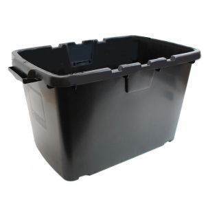 CORAL OUTDOOR RECYCLING/STORAGE BOX - 55L - BLACK