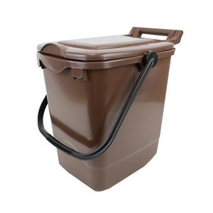 Large Kerbside Compost Caddy - 23L - Brown