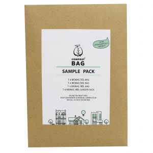 Sample Compostable Bag Pack - Compost Bag - 35/40L, 50L, 80L, 80L Garden