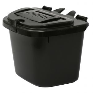 Vented Compost Caddy - 5 Litre - Food Bin - side