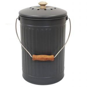 Charcoal/Slate/Grey 7L Compost Pail