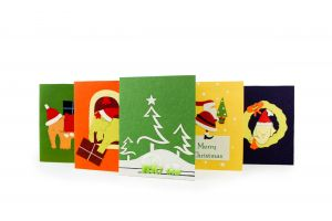 Elecosy: Christmas Cards - Assorted Pack of Five (Set 2)
