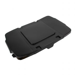 Black Coral Hard Plastic Flexi-Lid for Outdoor Recycling Boxes