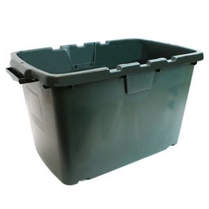 CORAL OUTDOOR RECYCLING/STORAGE BOX - 55L - GREEN