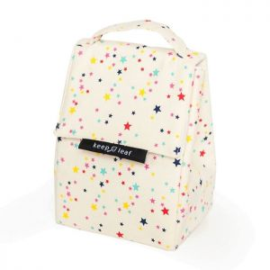 Keep Leaf Insulated Lunch Bag - Stars Design