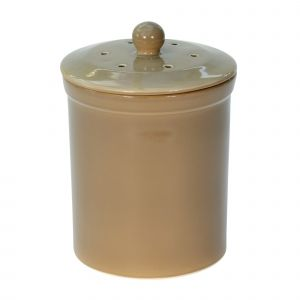 Melbury Ceramic Compost Caddy - Buff