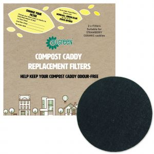 Filters for Strawberry Ceramic Compost Caddies