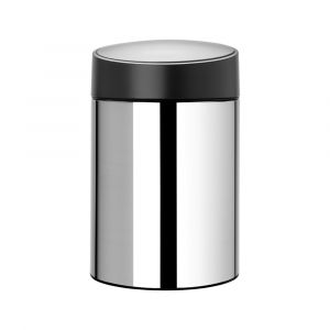 Brabantia newIcon Slide Bin - 5L - Brilliant Steel