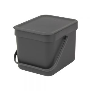 Brabantia Sort & Go Kitchen Caddy - Grey - 6L Size