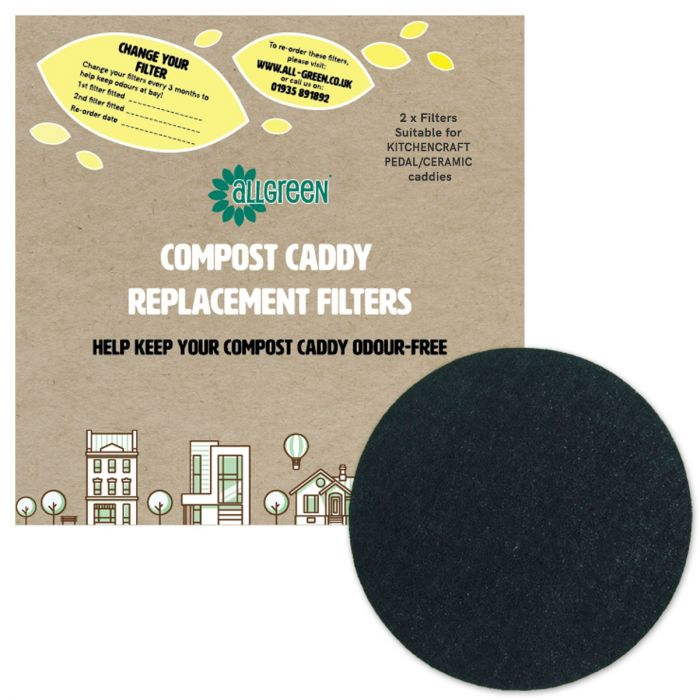 Filters For Kitchencraft Pedal Bin Ceramic Caddies All Green