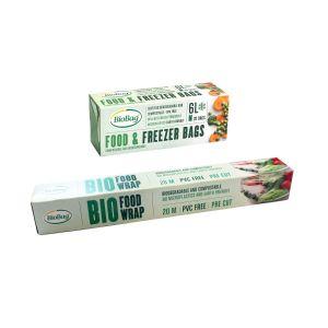 Compostable Food Wrap & Freezer Bag Sets