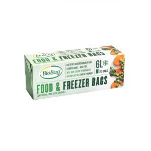 BioBag Food & Freezer Bags (6L)