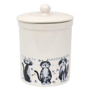 Ashmore Ceramic Compost Caddy / Food Bin 3L alley cats Design - Main