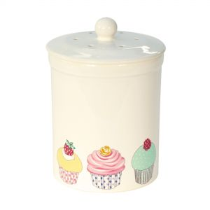 Ashmore Ceramic Compost Caddy - Cup Cake