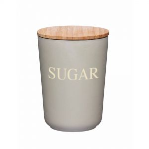 Natural Elements Eco-Friendly Bamboo Fibre Sugar Canister