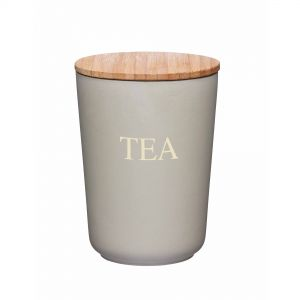 Natural Elements Eco-friendly Bamboo Fibre Tea Canister