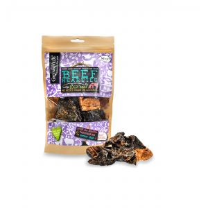 Green & Wilds Eco Dog Treats - Beef Hearties