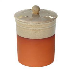 Chetnole Terracotta Compost Caddy - Sand
