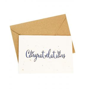 Congratulations (Engagement) - Wildflower Plantable Card