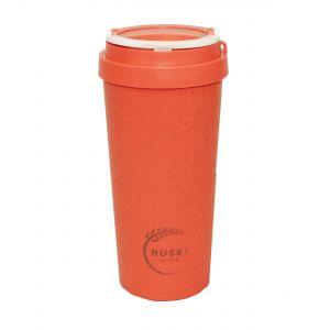 Huski Home Reusable Travel Cup - Coral Red (500ml)