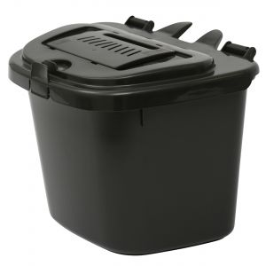 Charcoal Vented Compost Caddy - 5 Litre - Food Bin - side