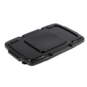 Coral Hard Plastic Lid for Outdoor Recycling Boxes