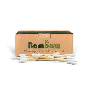 Bambaw Organic Cotton & Bamboo Buds - 200pc